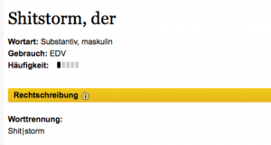 Screenshot: www.duden.de