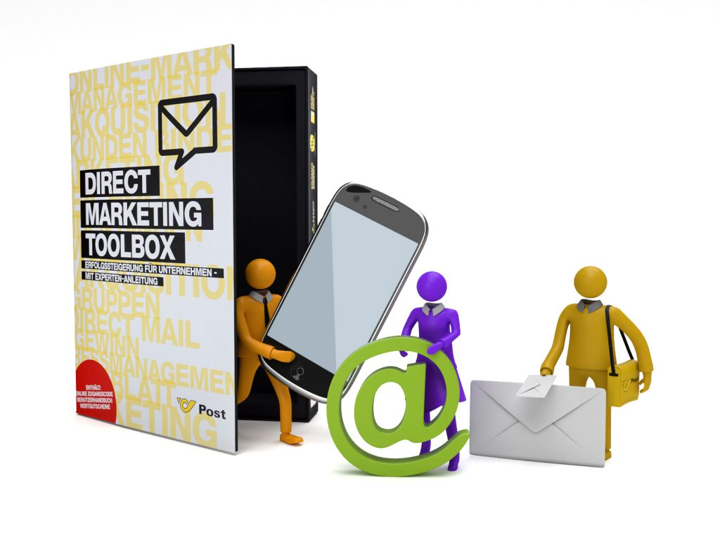 Die DIRECT MARKETING TOOLBOX der POST AG.