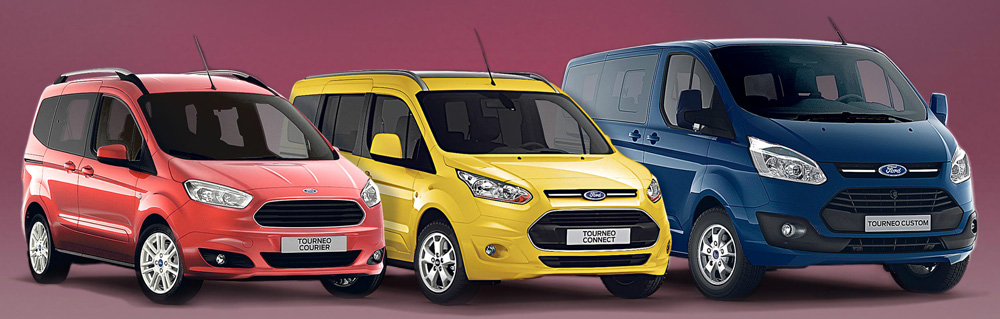 Ford-Tourneo-Familie