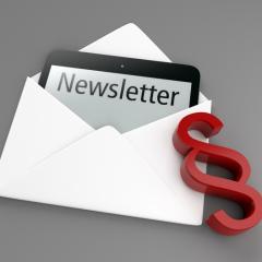 Marketing & Akquise – Rechtlich sicher gestalten – Der Newsletter