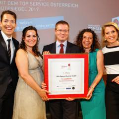 DHL Express ist Top Service Österreich Sieger 2016!
