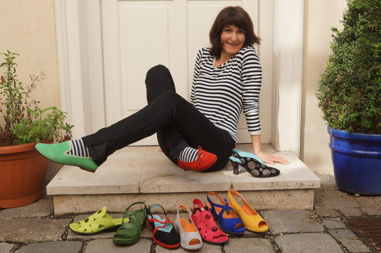 Gertraud Buxhofer, Schuhhandel: … weil es für Nischen immer Chancen auf Erfolg gibt!