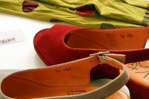...konzentriere meine Auswahl auf gut passende Schuhe die in Europa produziert werden.© Bild: Maria Nasswetter