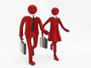 Sich selbständig zu machen beginnt bei der eigenen Überzeugung das Richtige zu tun.. © 3D Rendering: www.corporate-interaction.com
