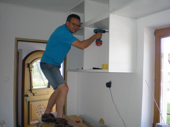 Tom Schweiger, Hauswerker: … ist eine Kombination aus handwerklichem Geschick und Menschenkenntnis.