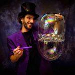 Aramis Gehberger, Riesenseifenblasen: …ich war der erste Anbieter in Österreich