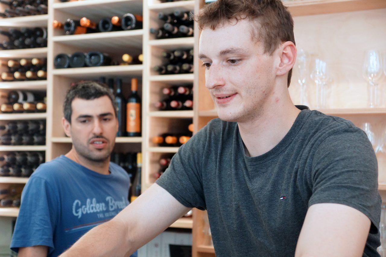 David Reali, Weinhandel und Gastronomie: ... unsere Stärke ist die persönliche Beziehung zu den KundInnen.