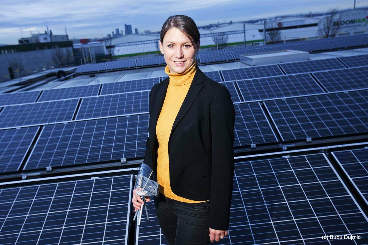 Cornelia Daniel, Solarunternehmerin: ... würde schon während des Studiums gründen.
