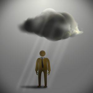 Dunkle Wolken am Wirtschaftshorizont