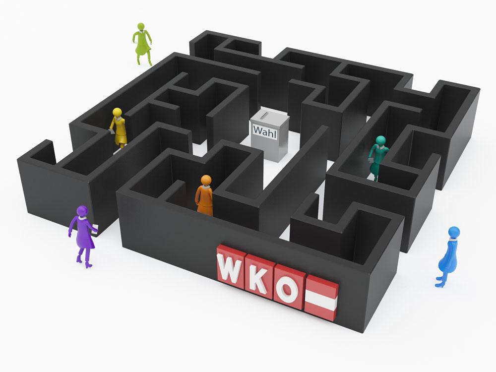 Nach der WKO-Wahl - Kommentar Nr. 2: Wahlbeteiligung im Keller
