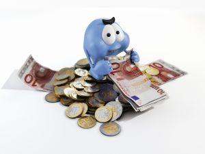 Geldfresser Blau 1000px