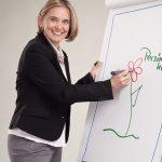 Gabriela Joham, Personalentwicklerin: … mein Unternehmen steht auf drei Beinen!