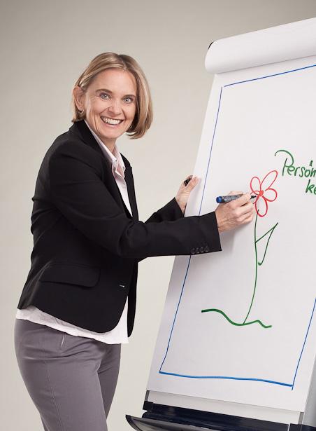 Gabriela Joham, Personalentwicklerin: ... mein Unternehmen steht auf drei Beinen!