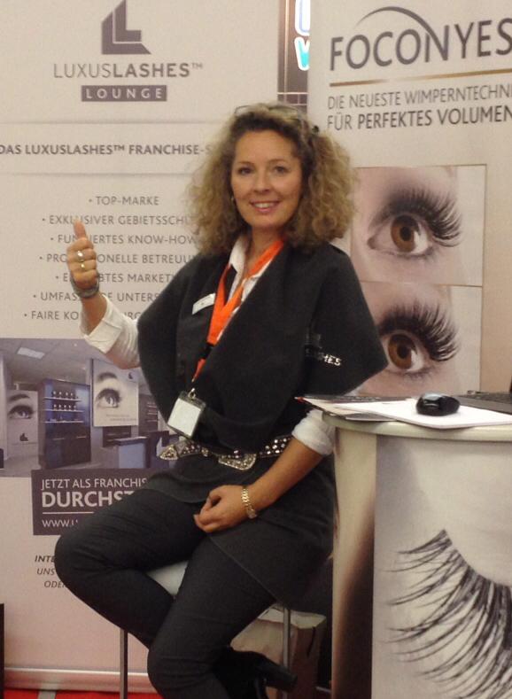 Regina Foltynek, Franchisegeberin: ...Verkauf in 25 Länder