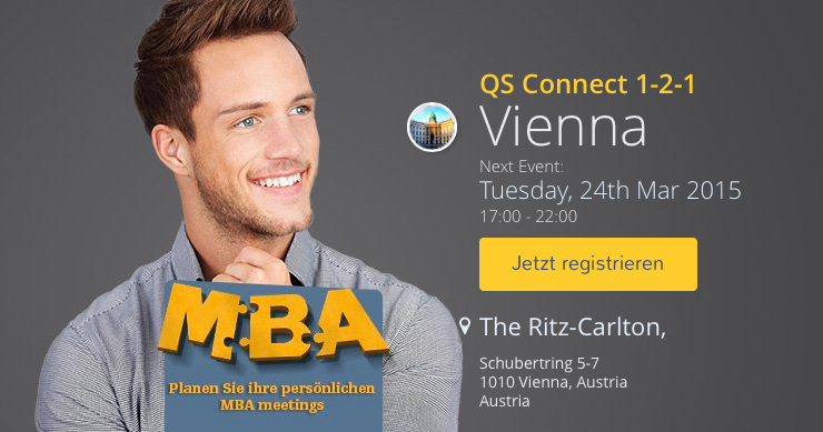 MBA-Event in Wien - Business Schools beraten zum MBA-Studium
