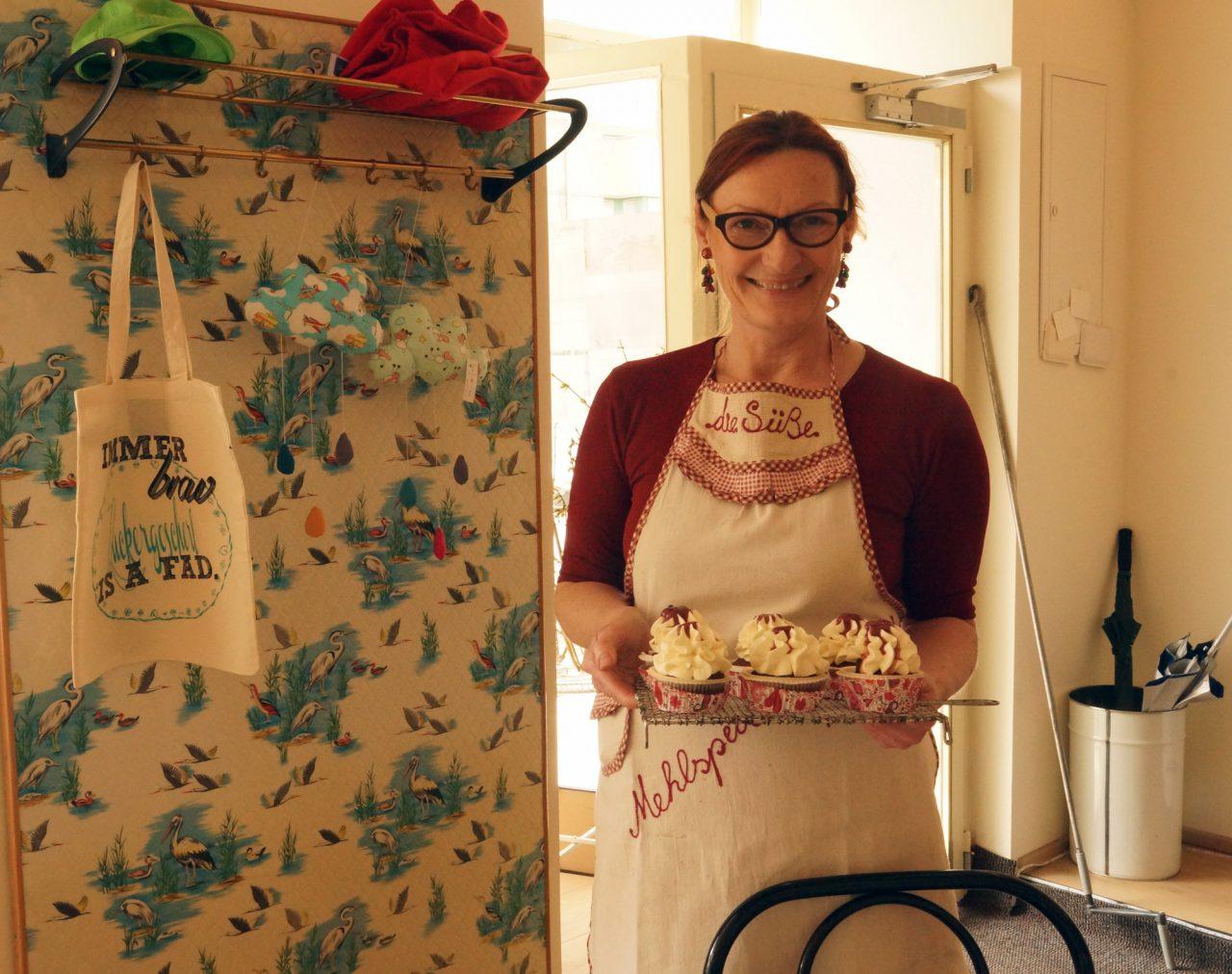 Karin Mayer, Zuckerbäckerin: ... ich unterscheide mich von der klassischen Konditorei.