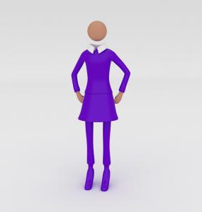 © www.corporate-interaction.com Die Unternehmerin, die eine Geschäftsidee hat und sich damit selbständig macht.