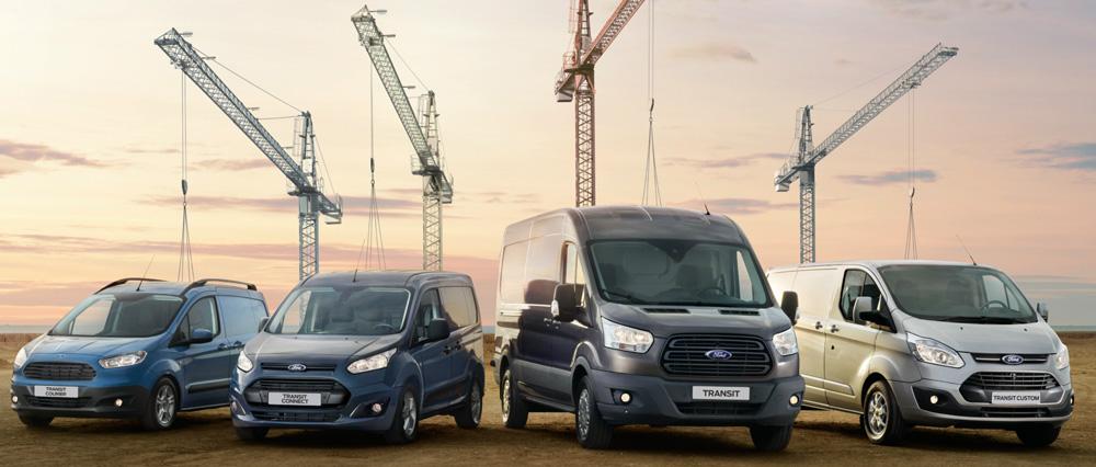 Nutzfahrzeuge im Fokus: Ford Tourneo & Ford Transit Familie