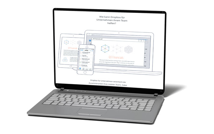 Dropbox-Laptop