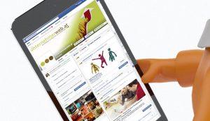 Facebook Fanpages breit
