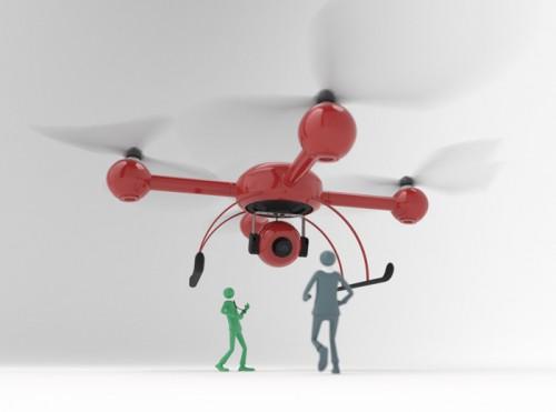 Private Drohnen – Was fliegt denn da?