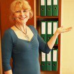 Sylvia Hadarics, Büroservice: … bin persönliche Assistentin auf Zeit.