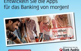 UniCredit Appathon 2015 in Wien: Bank Austria ruft FinTech-Szene zur Teilnahme auf!