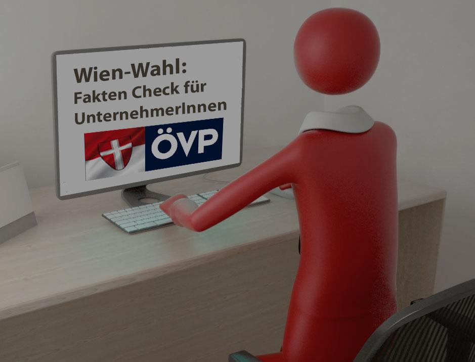 #Wien-Wahl - Folge 2: Die ÖVP will mit ihrem Image als Wirtschaftspartei wieder nach oben