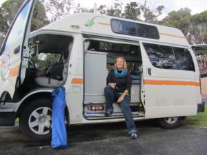 F Unterwegs im Campervan in OZ