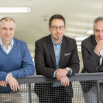 Harald Pfeiffer und Michael Frank, IT-Techniker: … überdenken einmal pro Jahr unsere Arbeitsweise