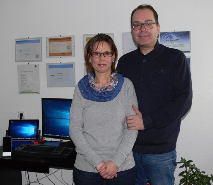 Koppensteiner und Rank, IT-Consulter: ... kümmern uns in erster Linie um kleine und mittlere Unternehmen.