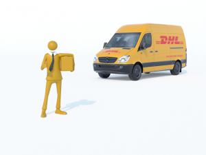 2016 05DHLUnternehmer mit Paket