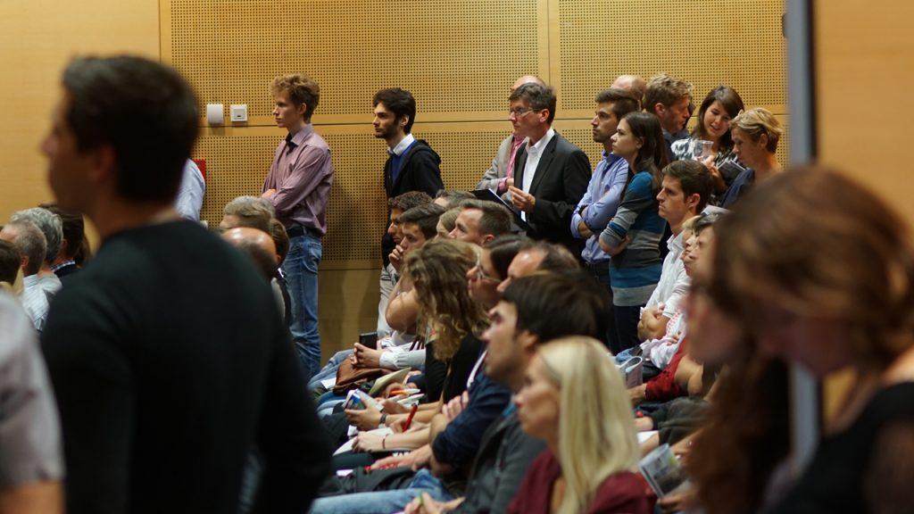 Grosses Interesse bei den Zuhörern. ©Thomas Nasswetter