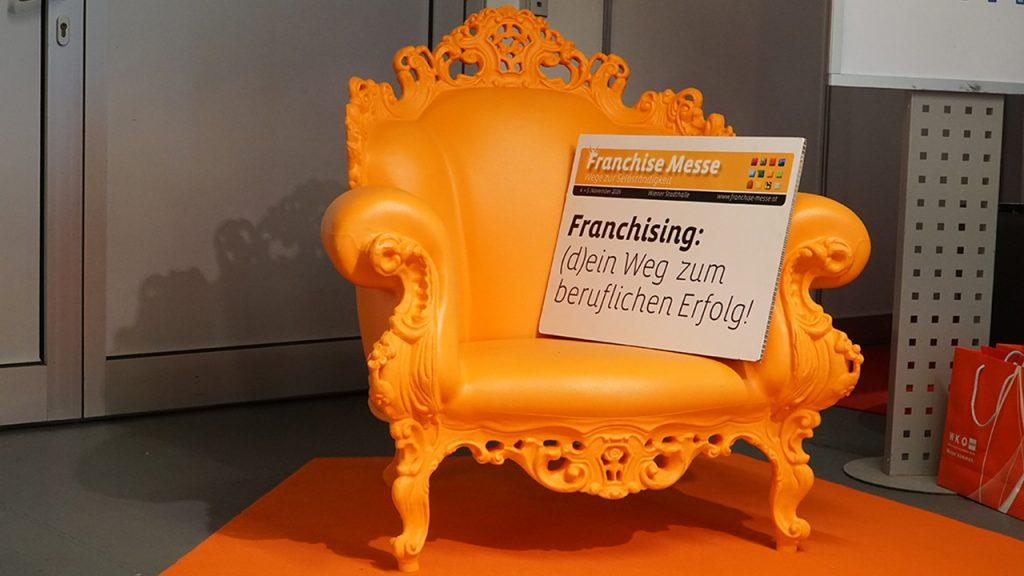 franchisemesse-oranger-sessel
