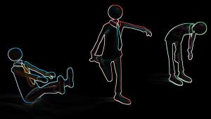 unternehmer gymnastikapp