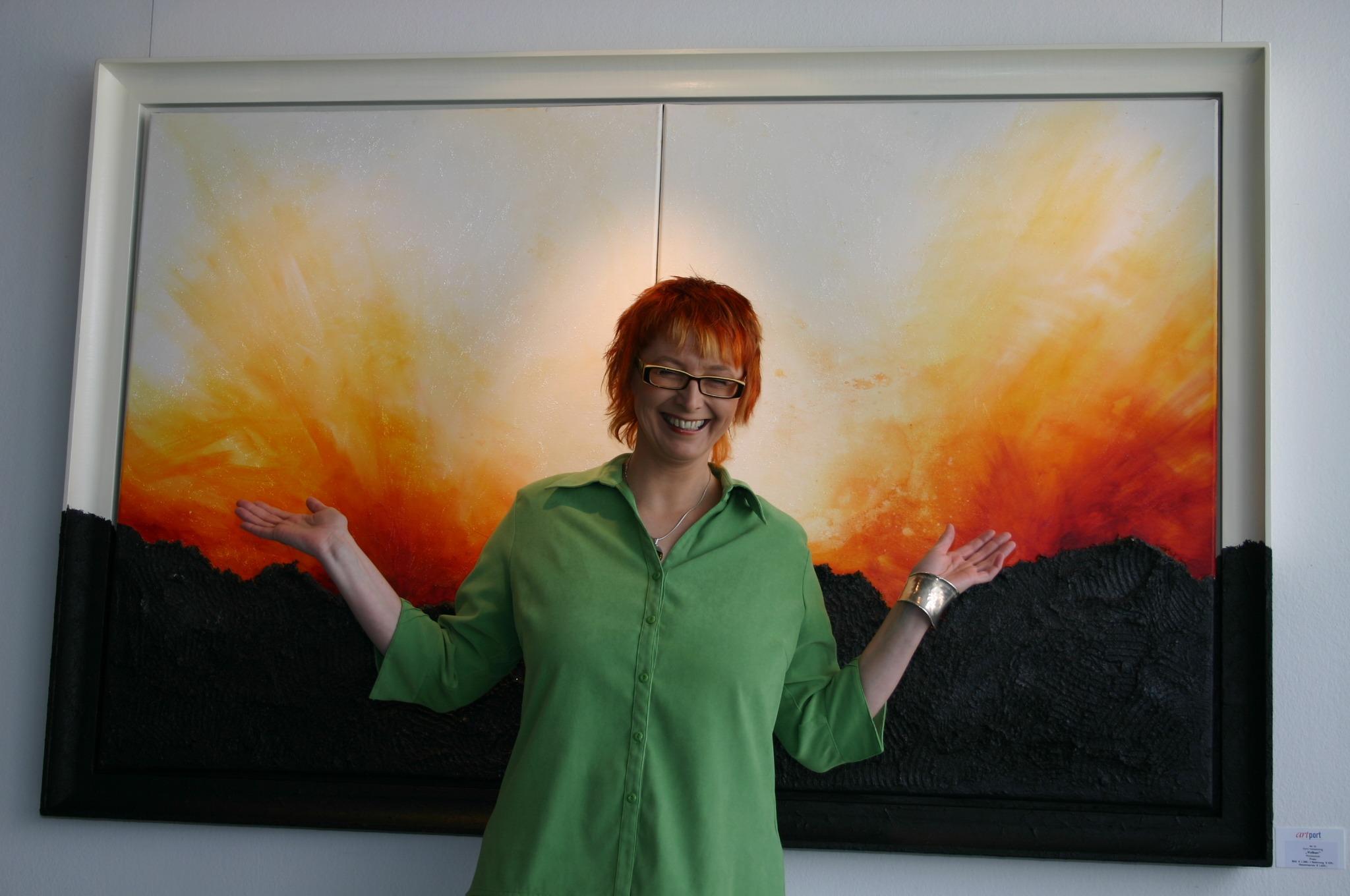Karin Ganatschnig, Künstlerin: ... ich lebe für die Kunst