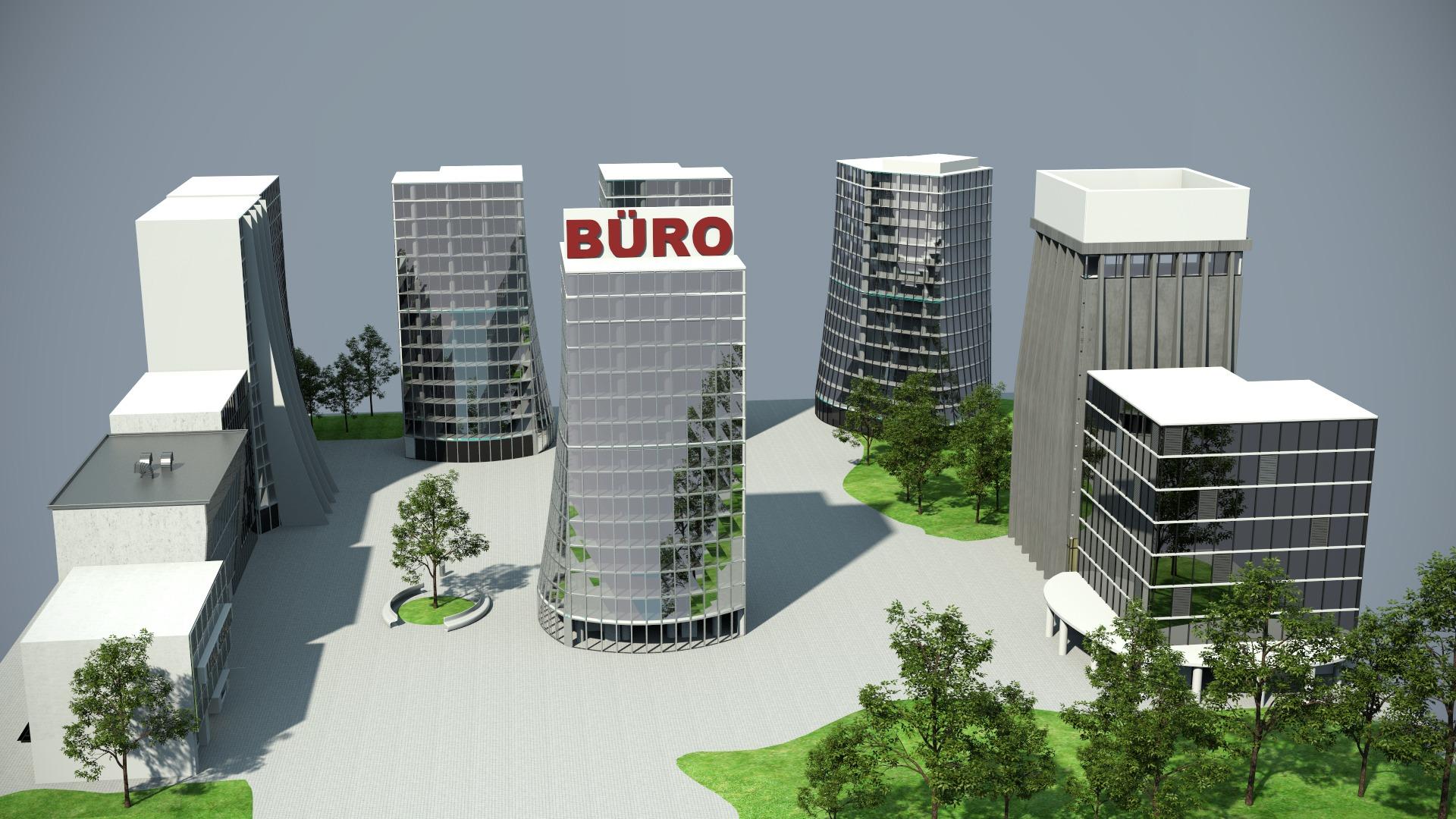 Stadtentwicklung Standort Buero