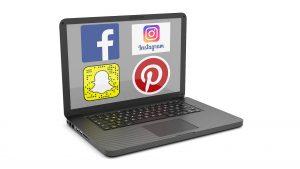 social media nutzung