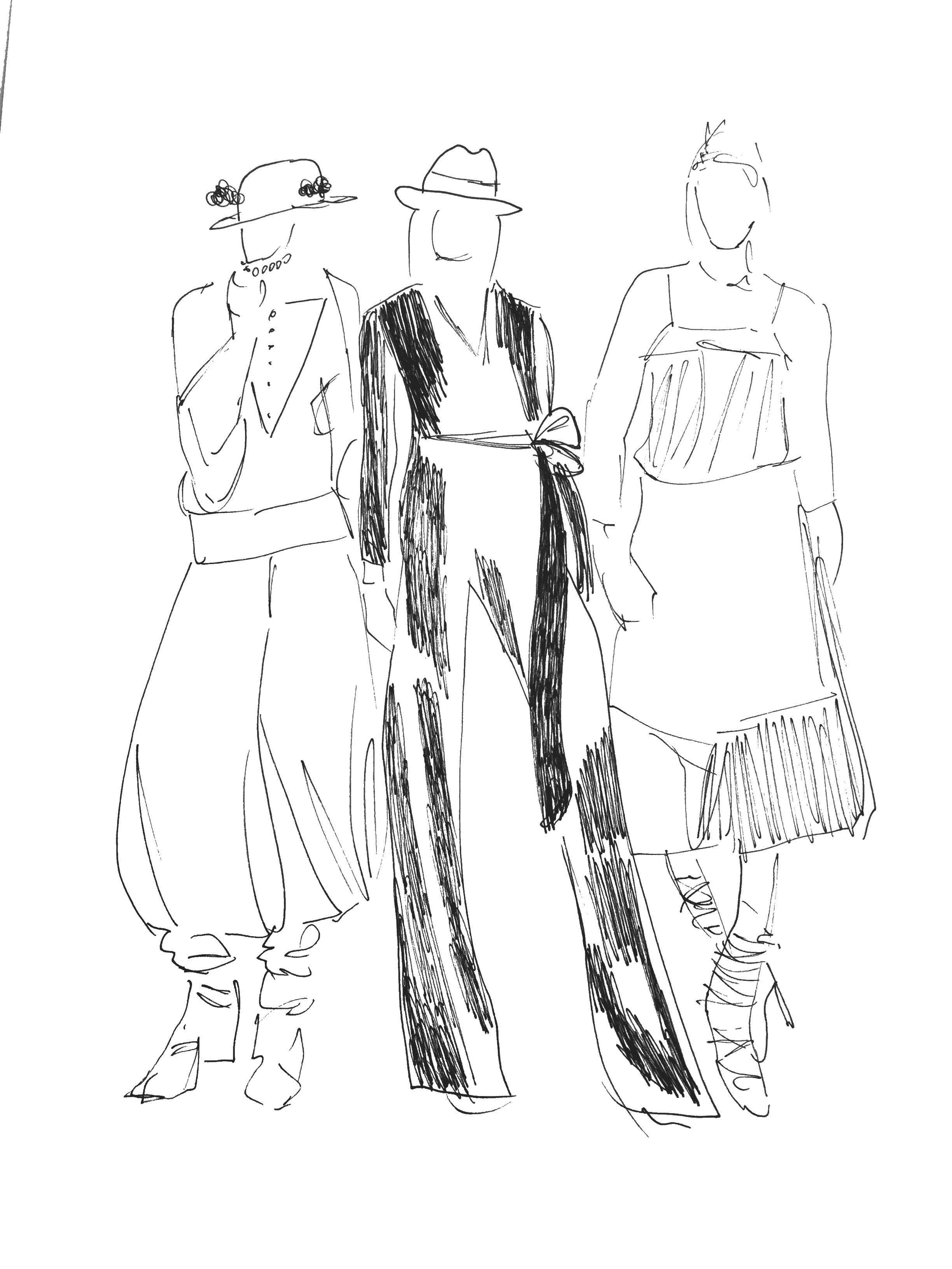 Die Sprache der Kleidung